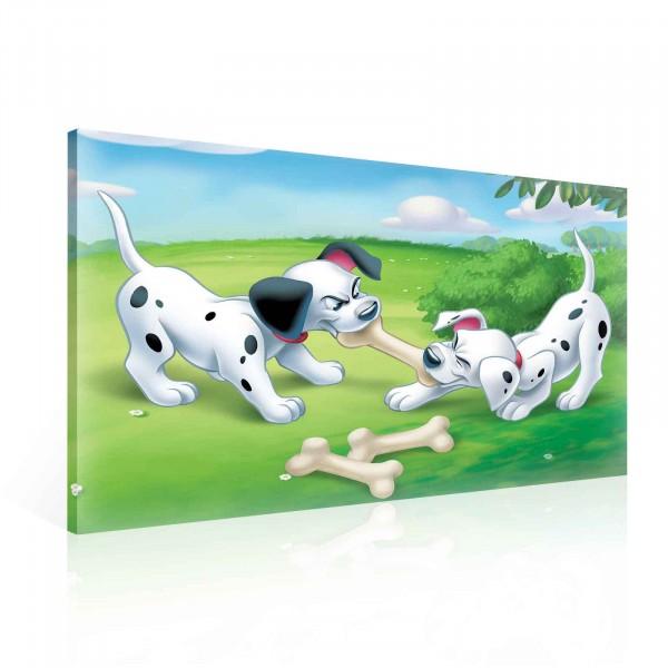 101 Dalmatians Canvas Print 100cm x 75cm