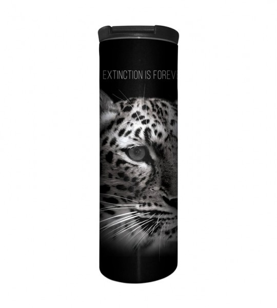 Extinction Is Forever Leopard Tumbler
