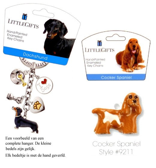 Cocker Spaniel - Emaille