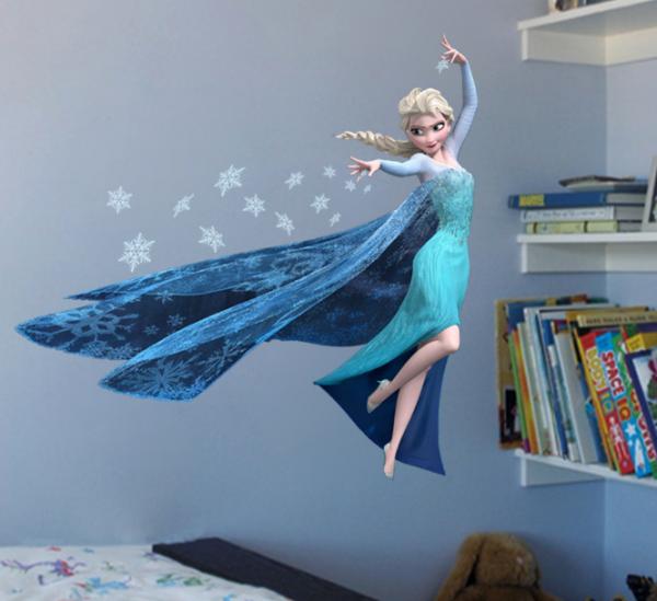 Frozen's Elsa Muursticker