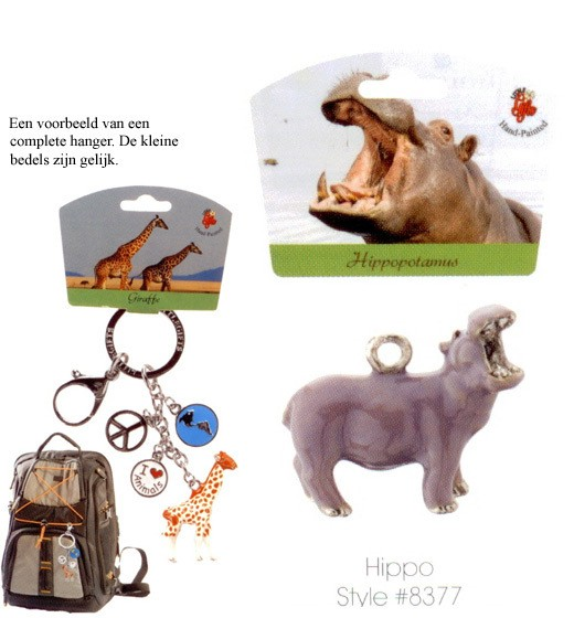 Hippo - Emaille