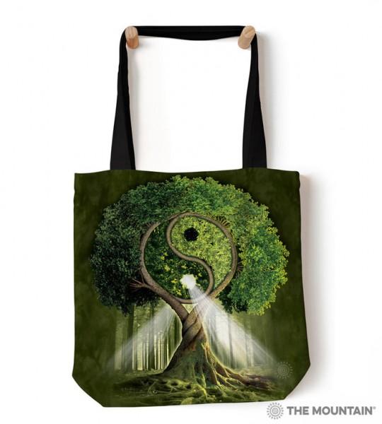 Bolso de mano Yin Yang Tree