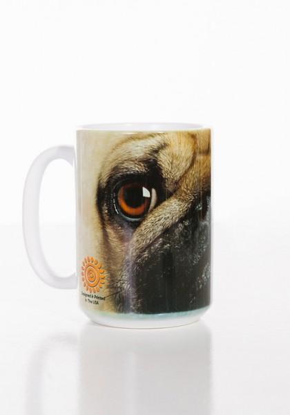 Becher Pug Face