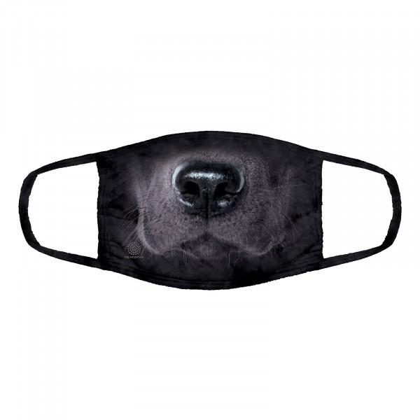 Black Lab Dog Face Mask