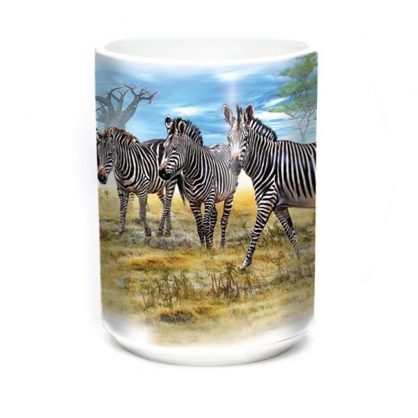 Mug Zebra Gathering