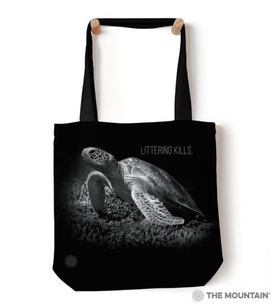 Tas Littering Kills Turtles