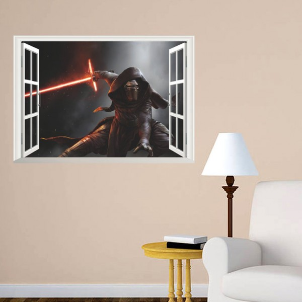 Star Wars Kylo Ren Muursticker