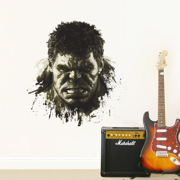 Marvel's Hulk Potrait Muursticker