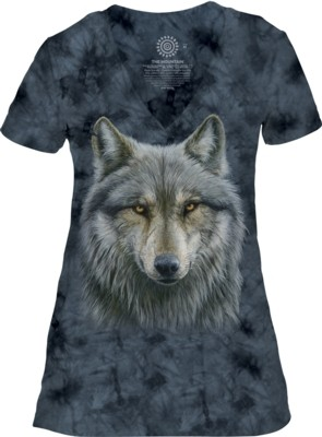 Warrior Wolf V-Neck Tri-Blend
