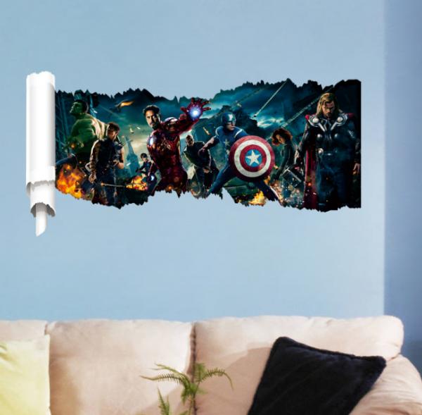 Marvel's Avengers Muursticker 2