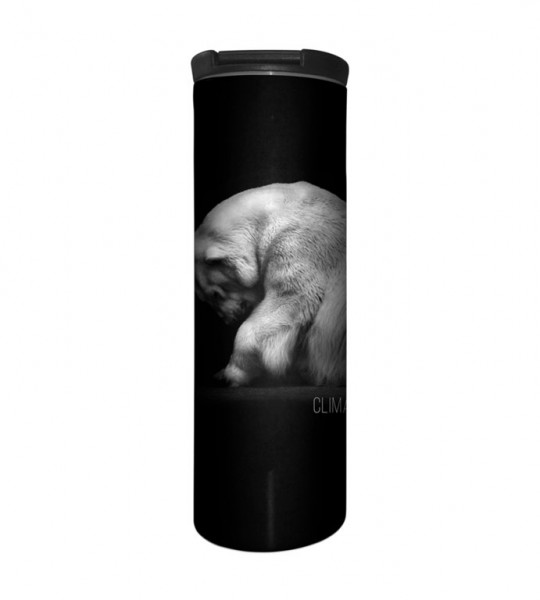 Climate Change Is Real Polar Bear Tumbler