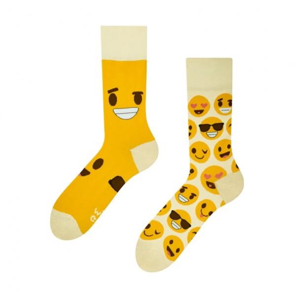Good Mood Smileys Unisex Adult Emoji Socks