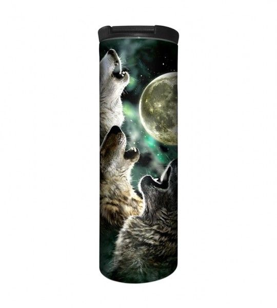 Three Wolf Moon Tumbler