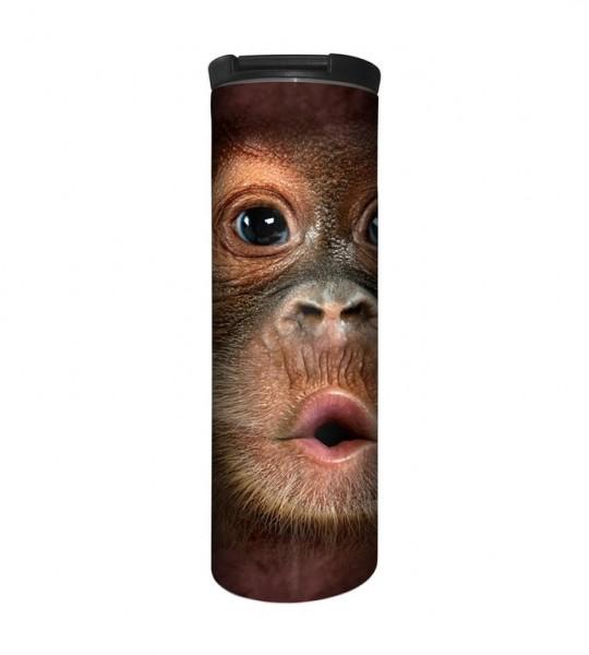 Big Face Baby Orangutan Tumbler