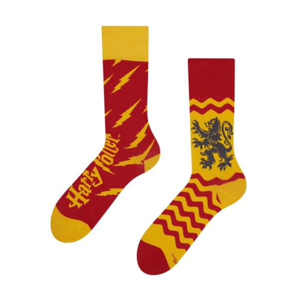 Harry Potter Gryffindor Unisex Adult Book & Film Socks