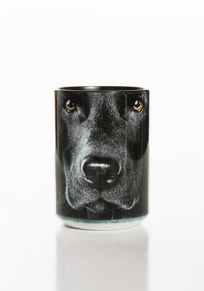 Tasse Black Lab Face