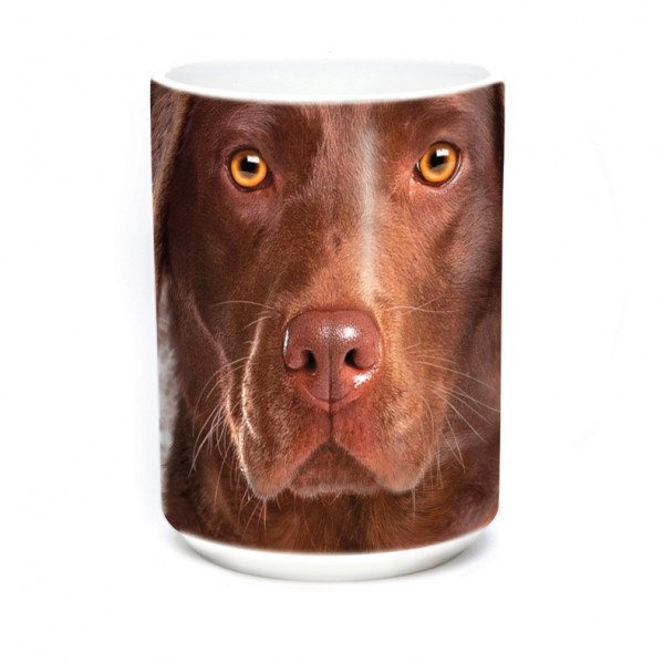 Becher Chocolate Lab Face