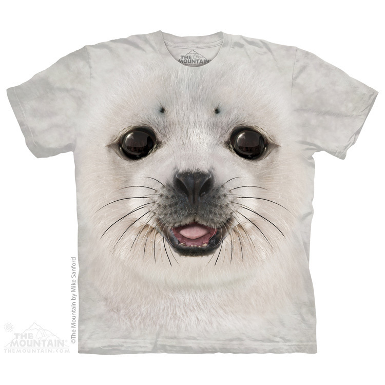 Big House Seal Shirt Coloured T Mountain Face The Kids Baby 7gfb6y