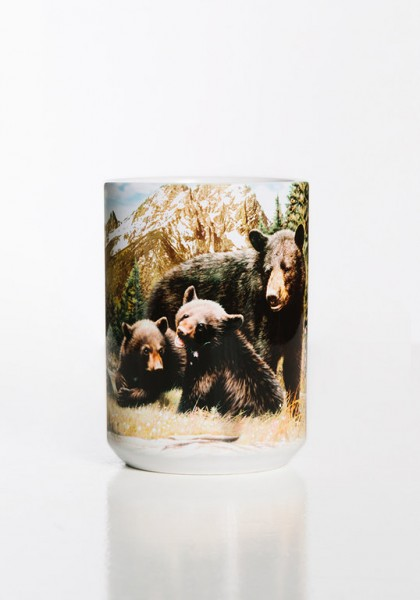 Mug Black Bear Family