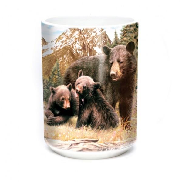 Tasse Black Bear Family