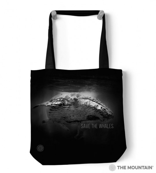 Bolso de mano Save The Whales