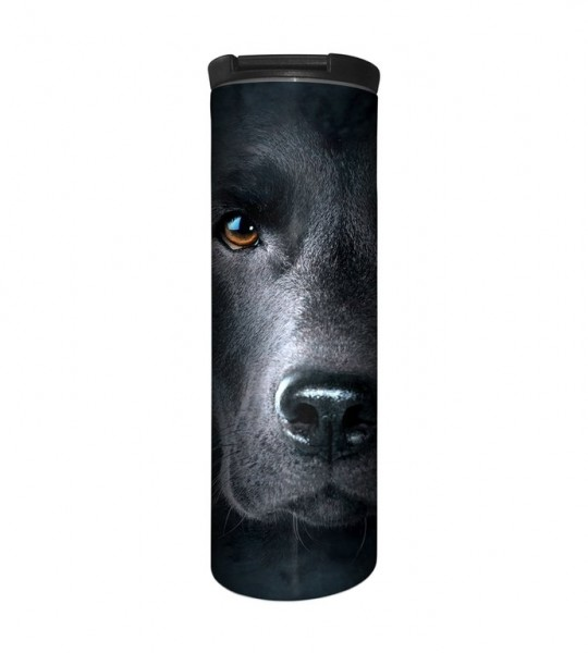 Black Lab Face Tumbler
