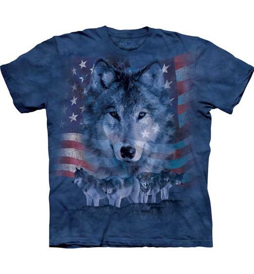 Patriotic Wolfpack