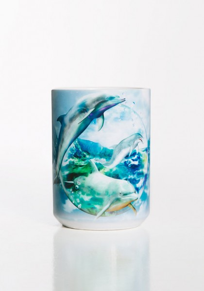 Mug Dolphin Bubble