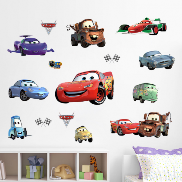 Disney Pixar Cars Muursticker