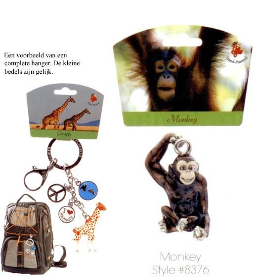 Monkey - Emaille