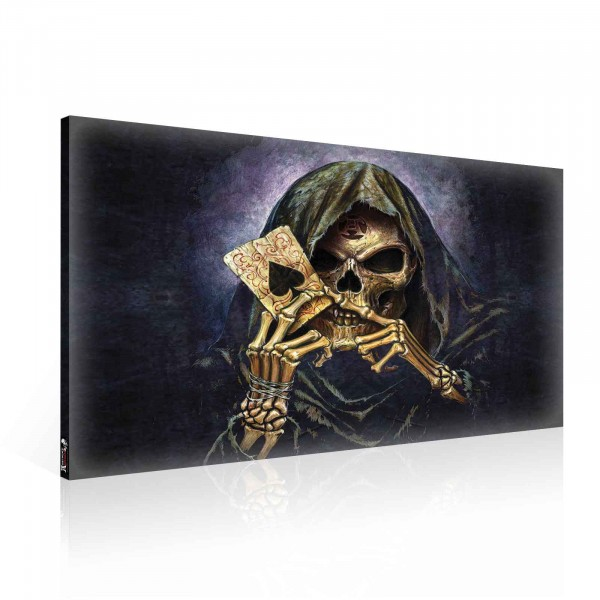 Alchemy Gothic Death Canvas Print 100cm x 75cm