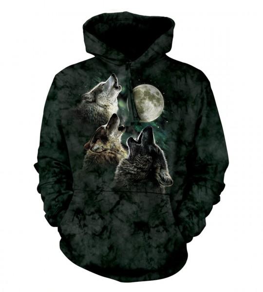 3 Wolf Moon Hoodie
