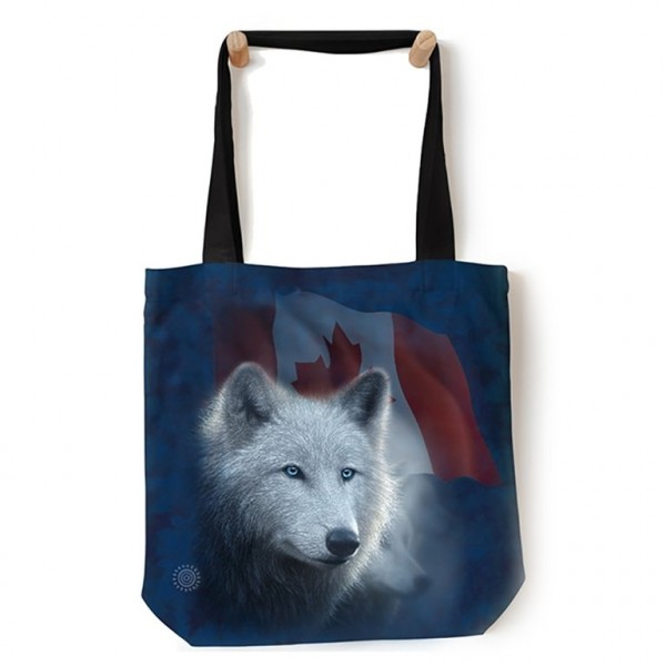 Sac fourre-tout Canadian White Wolf