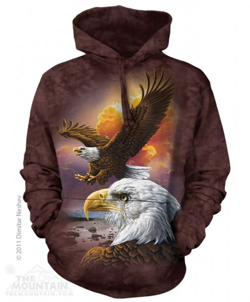 Eagle & Clouds Hoodie